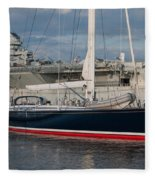 Lost At The Battle Of Midway June 1942 Fleece Blanket