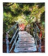 Lost Bridge Fleece Blanket
