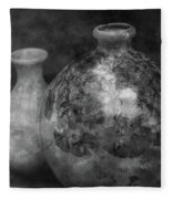 Lost Crystal Glaze Vessels 1722 Bw_2 Fleece Blanket