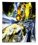 Lost In Space Abstract Fleece Blanket