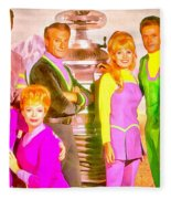 Lost In Space Team - Da Fleece Blanket