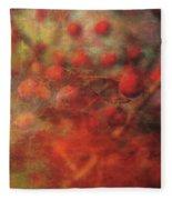 Lost Vintage Crabapples 5942 Ldp_2 Fleece Blanket