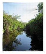 Lost Waterway Fleece Blanket