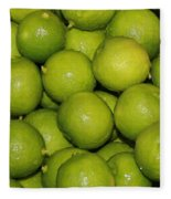 Lots Of Limes Fleece Blanket
