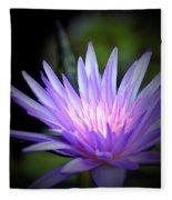 Lotus 15-01 Fleece Blanket