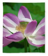 Lotus--center Of Being--protective Covering I Dl0087 Fleece Blanket