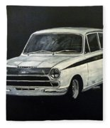 Lotus Cortina Fleece Blanket