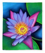 Lotus Divine Fleece Blanket