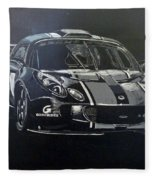 Lotus Exige Gt3 Fleece Blanket