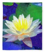 Lotus Grace Fleece Blanket