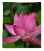 Lotus--shades Of Past And Future Dl029 Fleece Blanket