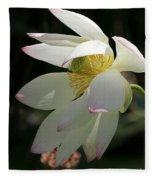 Lotus Under Cover Fleece Blanket