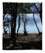 Lough Leane Through The Woods Fleece Blanket
