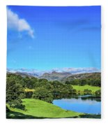 Loughrigg Tarn Fleece Blanket