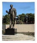 Louis Armstrong - Jazz Musician - New Orleans Fleece Blanket