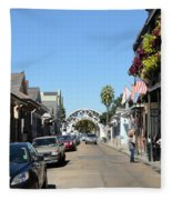 Louis Armstrong Park - Straight Ahead - New Orleans Fleece Blanket
