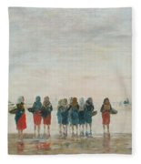 Louis Boudin Fleece Blanket