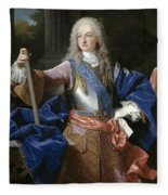Louis De Bourbon Of Savoy. Prince Of Asturias. Later Louis I Of Spain  Fleece Blanket