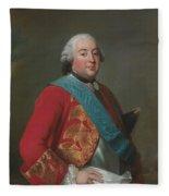 Louis Philippe D'orleans As Duke Of Orleans Fleece Blanket
