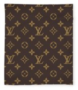 Louis Vuitton Texture Fleece Blanket
