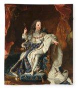 Louis Xv Of France As A Child Fleece Blanket