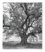 Louisiana Dreamin' Monochrome Fleece Blanket