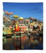 Louisiana Worlds Fair 1984 - New Orleans Photo Art Fleece Blanket