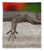Lounge Lizard Fleece Blanket