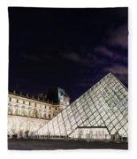 Louvre Museum 2 Art Fleece Blanket