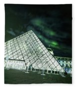 Louvre Museum 5b Art Fleece Blanket