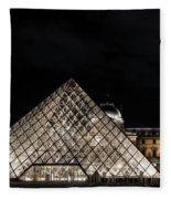 Louvre Museum 6 Art Fleece Blanket