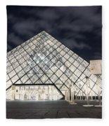 Louvre Museum Art Fleece Blanket