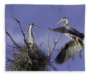 Love At First Sight Fleece Blanket