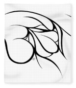 Love At Rest Fleece Blanket