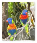 Love Birds Fleece Blanket