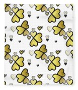 Love Connection - Valentines Fleece Blanket