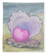 Love Endures All Things Fleece Blanket