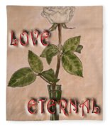 Love Eternal Fleece Blanket