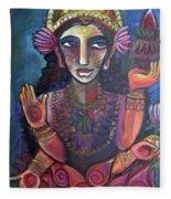 Love For Lakshmi Fleece Blanket