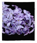Love In Lilac Fleece Blanket