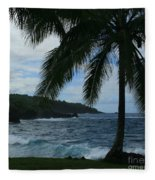 Love Is Eternal - Poponi Maui Hawaii Fleece Blanket