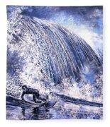 Love Is The Seventh Wave Fleece Blanket