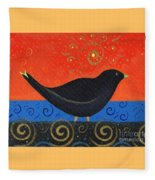 Love Of Birds Fleece Blanket