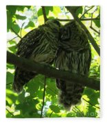 Love Owls Fleece Blanket
