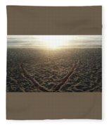 Love The Beach Fleece Blanket