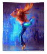 Love To Dance Fleece Blanket