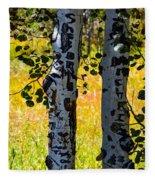 Love Trees Fleece Blanket