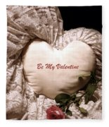 Love Victorian Style 2 Fleece Blanket