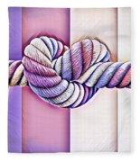 Love Wins/fields Fleece Blanket