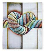 Love Wins/galle Fleece Blanket